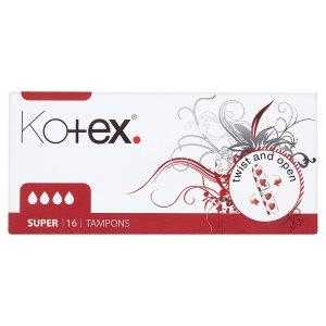 Kotex Super tampóny 16 ks Prima Drogerie