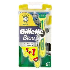 Gillette Blue 3 Special Edition pohotová holítka se zvlhčujícím páskem 6 ks