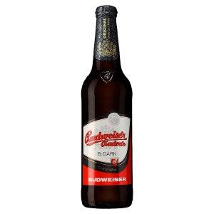 Budweiser Budvar B:Dark Tmavý ležák pivo 0,5l