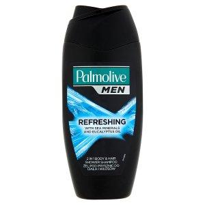 Palmolive Men Refreshing tělový šampon 2v1 s mořskými minerály a eukalyptovým olejem 250ml Prima Drogerie