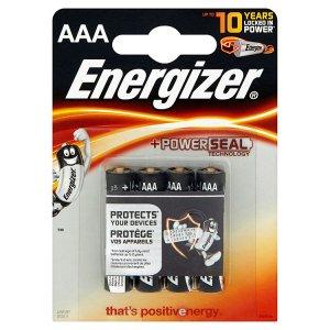 Energizer AAA 1,5V alkaline baterie 4 ks