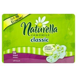 Naturella Camomile Classic maxi hygienické vložky s jemnou vůní 16 ks Penny Market
