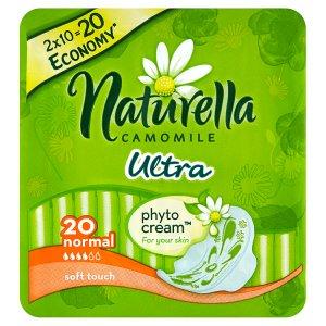 Naturella Camomile Ultra normal hygienické vložky s jemnou vůní 20 ks Tesco