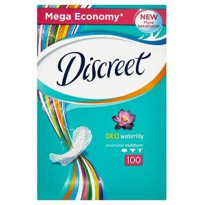 Discreet Deo waterlily multiform intimky 100 ks Tesco