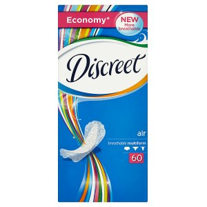 Discreet Air multiform intimky 60 ks TOP drogerie