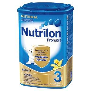 Nutrilon 3 Pronutra Vanilka 800g Tesco