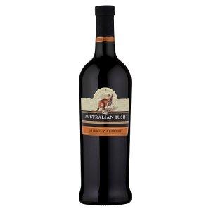 Australian Bush Shiraz-Cabernet červené víno 750ml