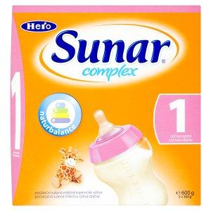 Sunar Complex 1 počáteční sušená mléčná kojenecká výživa 2 x 300g ROSSMANN