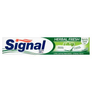 Signal Family Care Herbal fresh zubní pasta 75ml Penny Market