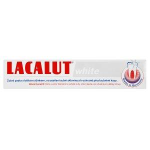 Lacalut White zubní pasta s bělícím účinkem 75ml dm drogerie markt