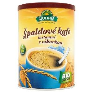 Biolinie Špaldové kafe instantní s cikorkou 100g