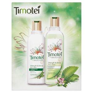 Timotei Síla a lesk šampon, Síla a lesk kondicionér Terno