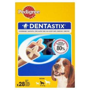 Pedigree Dentastix Doplňkové krmivo pro psy starší 4 měsíců 4 x 180g