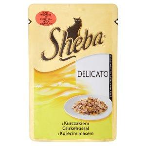 Sheba Delicato Kuřecí maso kompletní krmivo pro dospělé kočky 85g