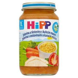 HiPP Bio Masozeleninové příkrmy vybrané druhy 220g Albert