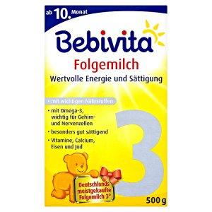 Bebivita 3 Instantní mléčná pokračovací kojenecká výživa 2 x 250g Teta drogerie