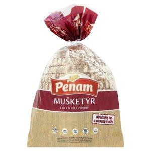 Penam Mušketýr chléb vícezrnný krájený 450g