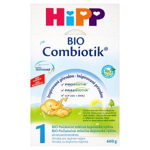 HiPP 1 BIO combiotik počáteční mléčná od narození 600g Albert