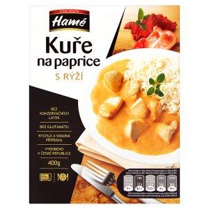 Hamé Life Style Kuře na paprice s rýží hotové jídlo 400g