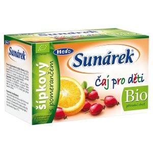 Sunárek Bio dětský čaj 20 ks, vybrané druhy Terno