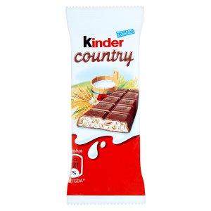 Kinder Country mléčná čokoláda s mléčnou náplní a obilovinami 23,5g