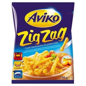 Aviko Zig Zag Bramborové hranolky do trouby vlnkované 750g