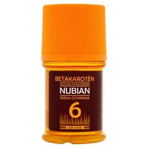 Nubian Olej na opalovaní OF 6 s betakaroténem 60ml