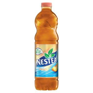 Nestea Nesycený nealkoholický nápoj s čajovým extraktem a broskvovou příchutí 1,5l