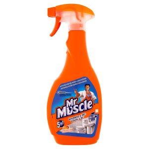 Mr. Muscle Koupelna a wc 5v1 čisticí a dezinfekční přípravek 500ml