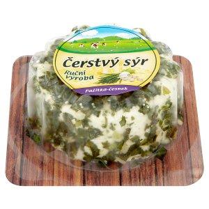 Čerstvý sýr pažitka - česnek 100g
