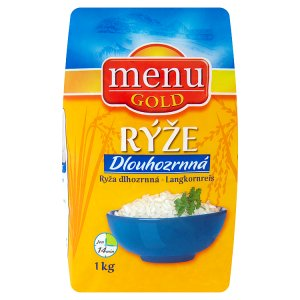 Menu Gold Rýže dlouhozrnná 1kg