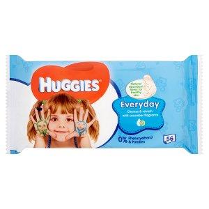Huggies Everyday dětské ubrousky 56 ks