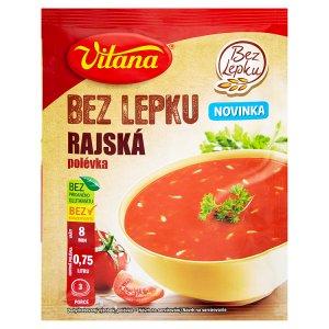 Vitana polévka bez lepku, vybrané druhy