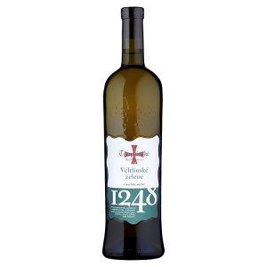 Templářské Sklepy Čejkovice Veltlínské zelené víno bílé suché 0,75l