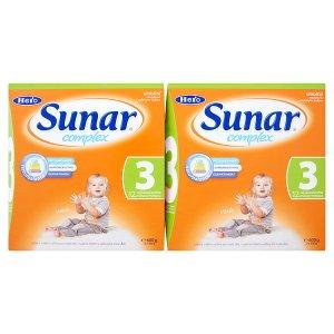 Sunar Complex 3 sušená mléčná výživa pro malé děti 2 x 600g Globus