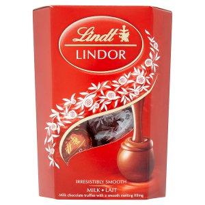 Lindt Lindor Mléčná čokoláda s jemnou krémovou náplní 50g