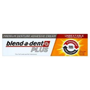 Blend-A-Dent Plus prémiový fixační krém na zubní náhradu 40g Kaufland