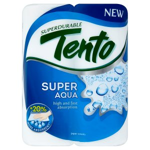 Tento Super Aqua Papírové utěrky 2 role Šlak