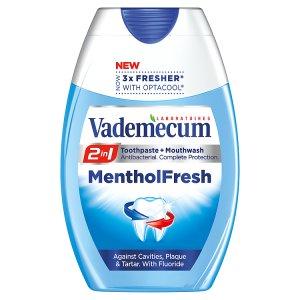 Vademecum 2in1 zubní pasta Menthol Fresh 75ml ROSSMANN