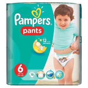 Pampers Jednorázové plenkové kalhotky 6 extra large 19 ks Penny Market