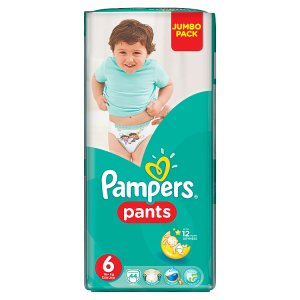 Pampers Pants 6 extra large 44 ks ROSSMANN
