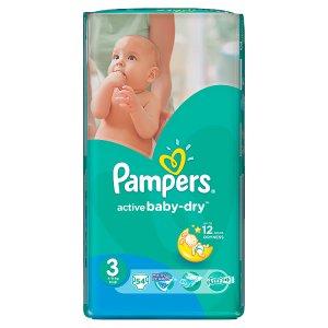 Pampers Active Baby Pleny 3 Midi 54 ks Albert