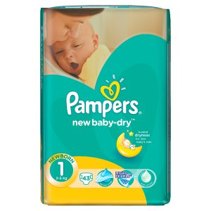 Pampers New Baby Pleny 1 Newborn 43 ks ROSSMANN