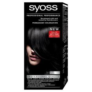 Syoss barva na vlasy, vybrané druhy Terno