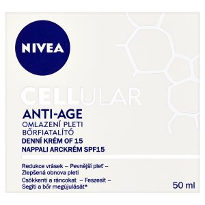 Nivea Cellular Anti-Age Denní krém pro omlazení pleti OF 15 50ml