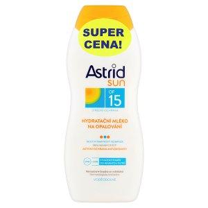 Astrid Sun hydratační mléko po opalování a hydratační mléko na opalování OF 15