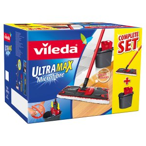 Vileda Ultramat set BOX (plochý mop + kbelík) Prima Drogerie
