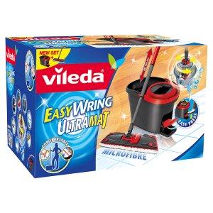 Vileda Easy Wring Ultramat (plochý mop + kbelík) Prima Drogerie