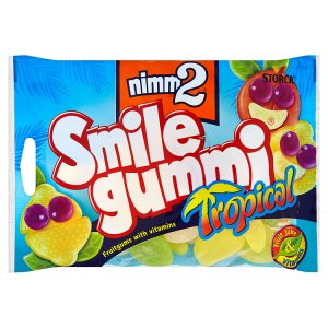 Storck Nimm2 Smile gummi tropical 100g