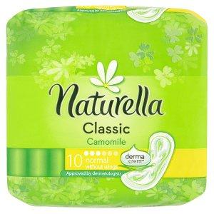 Naturella Classic camomile hygienické vložky s jemnou vůní 10 ks Tamda Foods